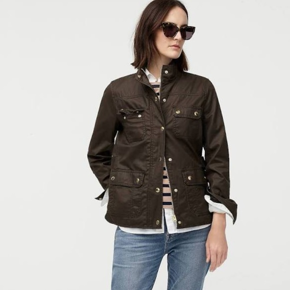 J. Crew Jackets & Blazers - J Crew Downtown Field Jacket